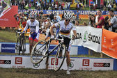 Cyclo cross uci tschechien 2013 — Stockfoto