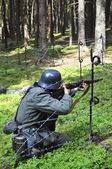 Germen soldier — Stock Photo