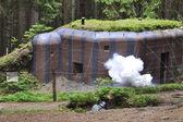 Historical bunker — Stock Photo