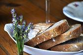 Taze geleneksel ekmek — Stok fotoğraf