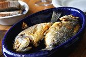 Two grilled fish — ストック写真