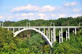 Concrete bridge — Stock Photo