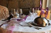 Table set — Stock Photo