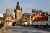 The Tower on the Charles Bridge — Stock Photo