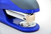 Blue strip stapler — Stock Photo