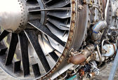 Jet engine — Stock Photo
