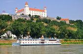 Castle in Bratislava — Stock Photo