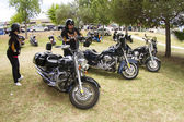 Harley-Davidson-Motorists — Stock Photo