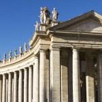 Vatican city colonnades — Stock Photo #27148767