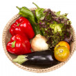 Vegetables in basket — Stock Photo #30326941