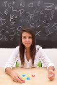 Teacher teaching — Stock Photo