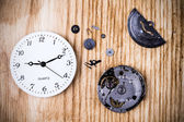 Clock background — Stock Photo