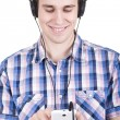 Listening to music — Foto de stock #39675747