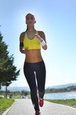 Mulher de fitness — Fotografia Stock