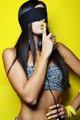 Fashion photo of beautiful woman — Stock Photo