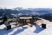 Beautiful alpine wiewpoint — Stock Photo