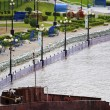 The flood in the Far East Russia — Lizenzfreies Foto