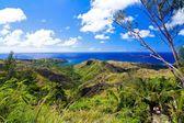 Beautiful landscape of the azure ocean — Stock Photo