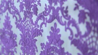 Purple wallpaper — Stock Video