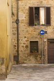 Tuscany old street — Stock Photo