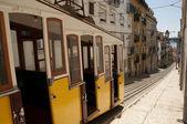 Eléctrico de Lisboa — Fotografia Stock