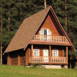 Wooden house — Stock Photo #30266511