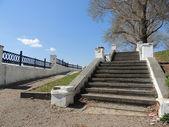La escalera de piedra — Foto de Stock