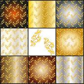 Textura de patrón — Vector de stock