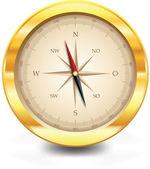 German compass vector icon — Stock Vector
