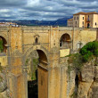 Scenic bridge in Ronda, Spain — Stock Photo