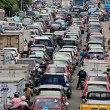 Stock Photo: Busy traffic during rush hour in Jakarta, Indonesia