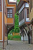 Old town of Plovdiv, Bulgaria — Stock Photo
