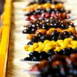 ストック写真: Greek olives in sun
