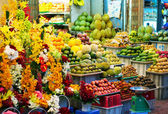 Exotic fruits in Bangkok, Thailand — Stock Photo