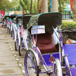 Stock Photo: Traditional rickshaws in Hue, Vietnam