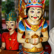 Traditional Javanese wood carvings — Stock Photo
