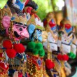 Traditional Javanese puppets — Stock Photo