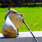 geleneksel Bulgar bagpipes — Stok fotoğraf #28609257