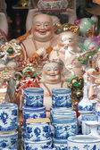 Ceramics stall in Hanoi — Stock Photo