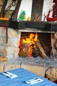 Mountain lodge retreat in Bulgaria — Stock Photo