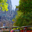 Tuk-tuks in Angkor Wat — Stock Photo