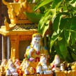 Stock Photo: Buddist shrine