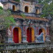 Stock Photo: Imprerial palace complex in Hue