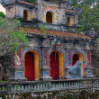 The Imprerial palace complex in Hue — Stock Photo