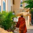 Stock Photo: Buddist monk in Cambodia