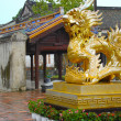 Stock Photo: Statue of dragon in Hue, Vietnam