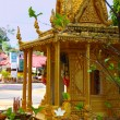 Stock Photo: Buddist shrine in Cambodia