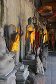 Buddha statues in Angkor Wat — Stock Photo