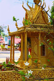 Buddist shrine in Cambodia — Stock Photo