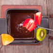 Stock Photo: Fondue